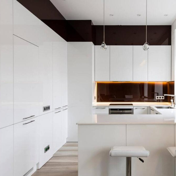White Modern Lacquer Kitchen Cabinets