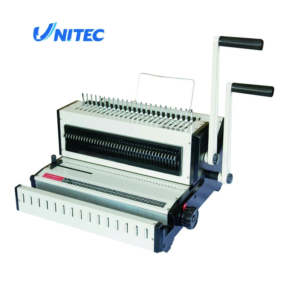2017 New selling comb and wire book binding machine CW2016