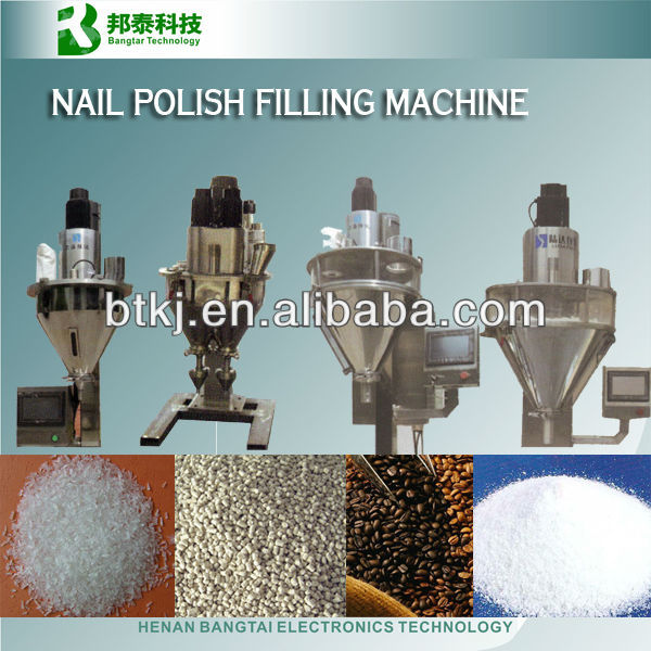Auger filling machine, nail polish filling machine, used powder packing machine