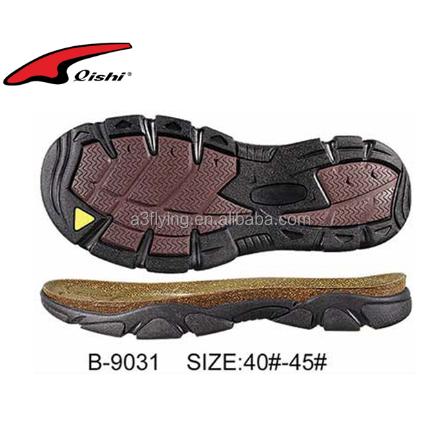 Sandals outsole wood shoe sole wedge men sandal shoe sole