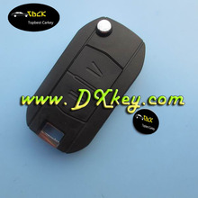 High quality car key shell with 2 button for ople remote key shell for opel astra car remote key YM28 blade