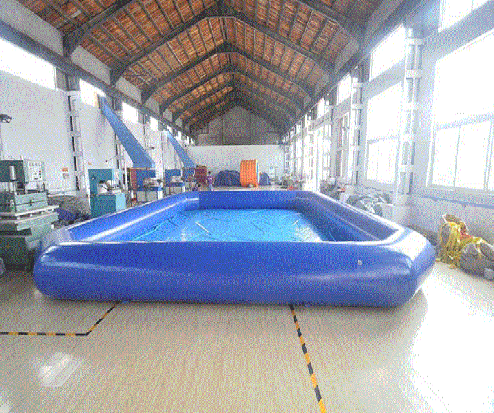 Easy set PVC outdoor large inflatable square swimming water pool toys