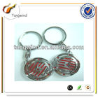 Cheap Promotional OEM Custom Car Logo Keychain