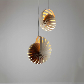 lighting chandeliers natural black red wooden Nautilus pendant light & Lighting Chandeliers Natural Black Red Wooden Nautilus Pendant Light ...
