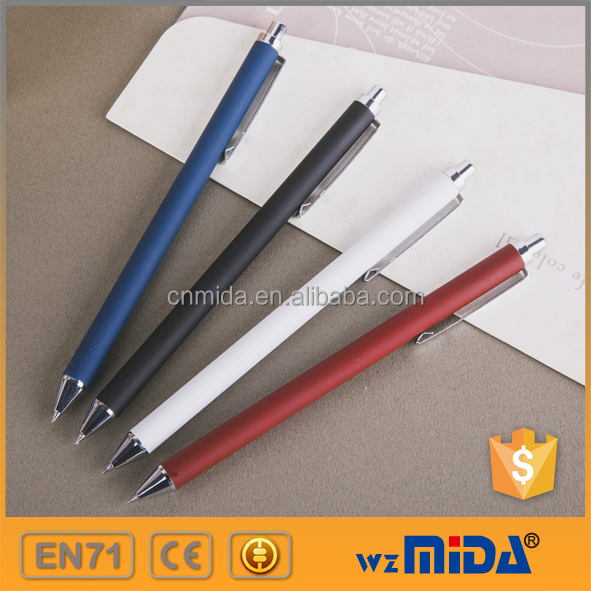 business luxury metallic gel ink pens OEM available MD-Z9003