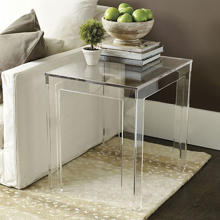 Attractive Clear Plastic Coffee Tables, Clear Plastic Coffee Tables Suppliers And  Manufacturers At Alibaba.com