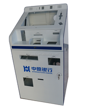 Bank Self Service Terminal อุปกรณ์ Financial Instrument Enclosure สด Acceptor