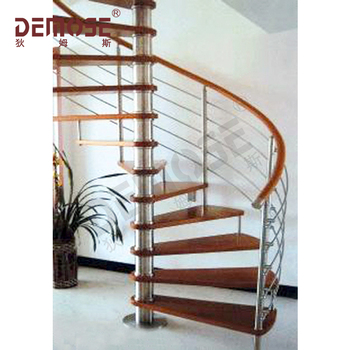 Charmant Arc Stairs With Stainless Steel Stair Railing And Wood Stair Step Design    Buy Arc Stairs,Stainless Steel Stair Railing Arc Stairs,Wood Stair Step ...
