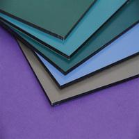 Guaranteed Quality 3mm polyester aluminum composite facing board wall aluminium composite panel