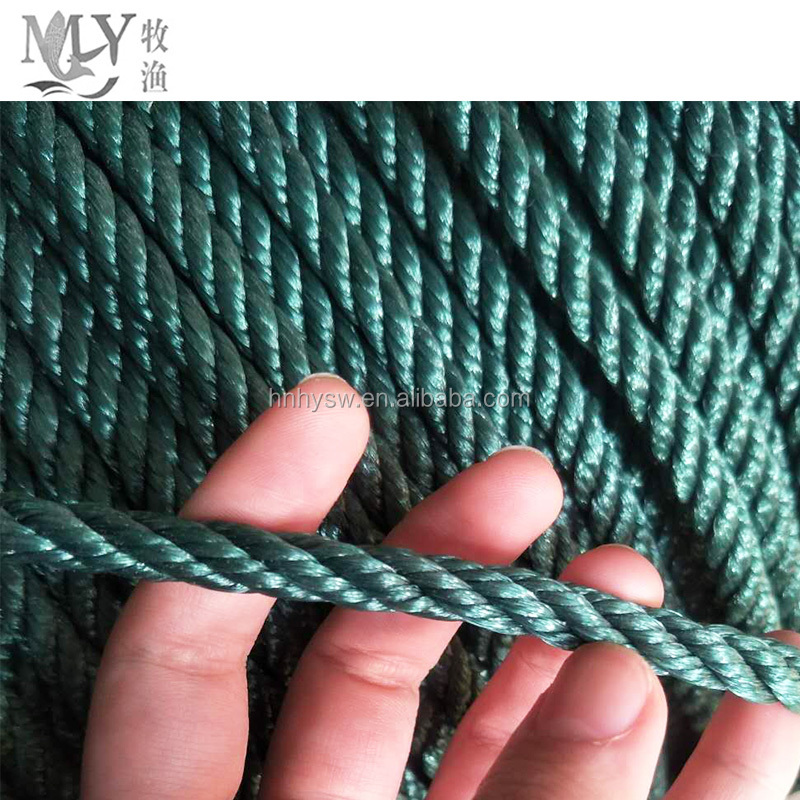 high quality pe fishing color rope