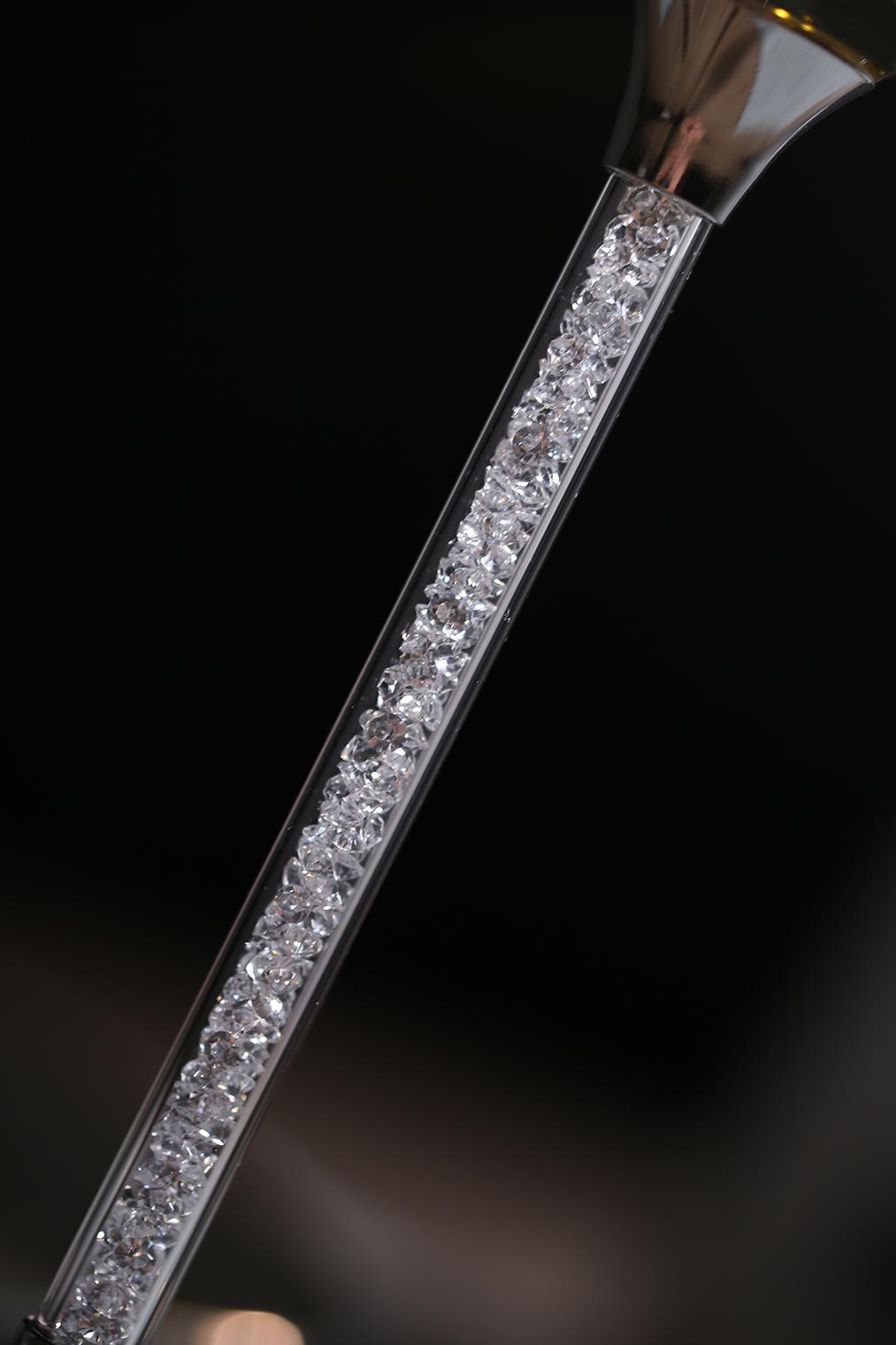 600ml Handmade Heat Resistant Borosilicate Glass Goblet Wine Glass Set