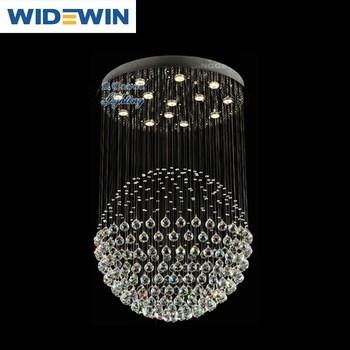 Kristal Oppervlak Plafondlamp Moderne Luxe Hotel Woonkamer ...