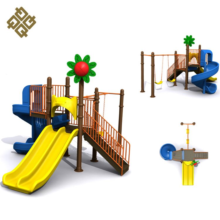 China Factory attractive style various colors children simple playground equipment