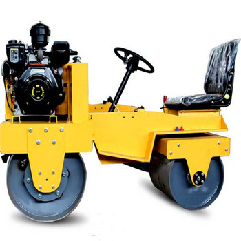 road construction use ride on two drum vibratory road roller wholesale