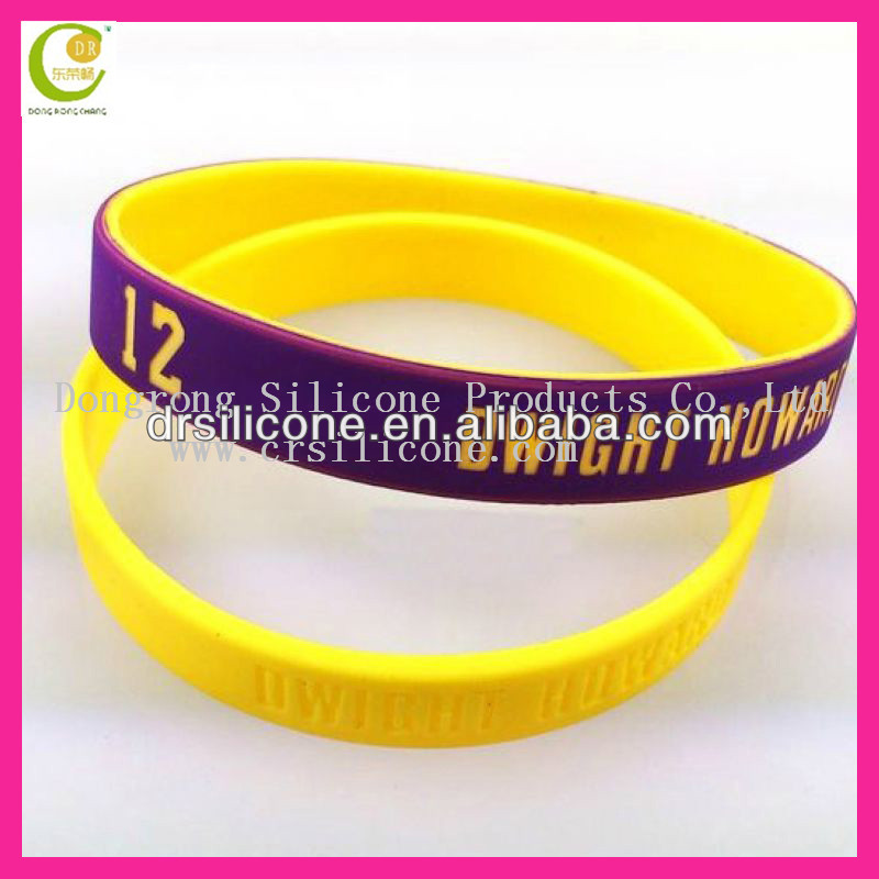 Personalized cheap factory price custom band wrist silicone bangle,silicone magnetic bracelets for gifts