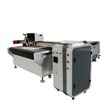 1625-S4 CNC Oscillating Knife Cutting Machine For PVC