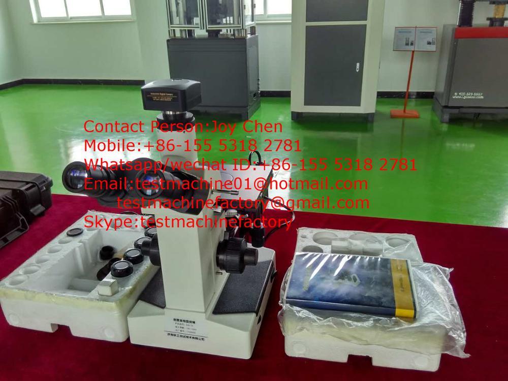 Trinokular metallographische lichtmikroskop digital mikroskop mit