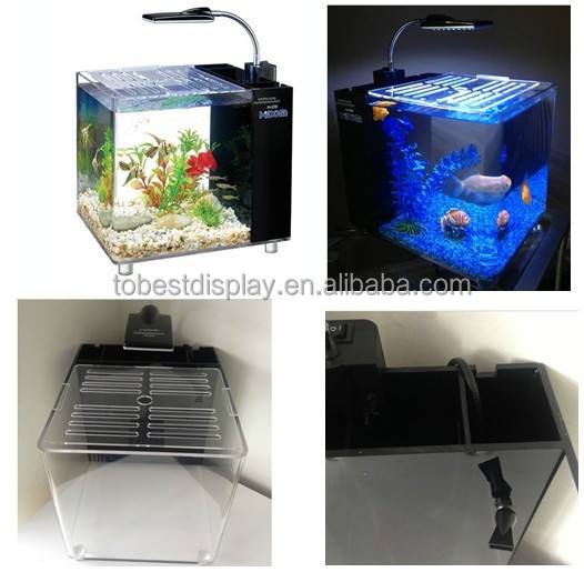 High Purity Acrylic Plastic Fish Fram Tank In Any Custom Size ...