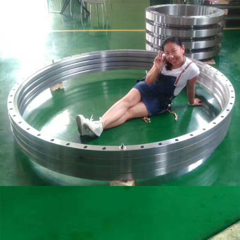 Puddle engine astm a150 carbon steel ring 150lb wnrf forged long weld neck threaded flange