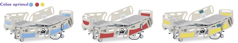YFD5618K(II) 5 Functions ICU Electrical Hospital Bed With CPR Function