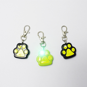 Safety Glow Collar Dog Puppy LED Pet dog Tag Flashing Light