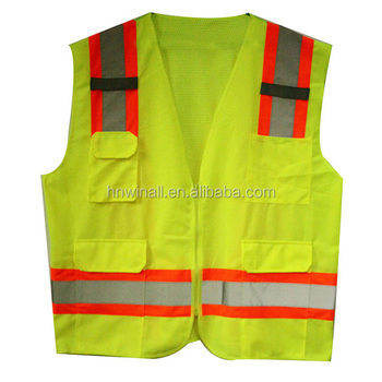 3m Reflective Construction Safety Vest With Pockets