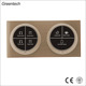 China Manufacturer Wall Screen Panel Smart Touch Switches for Home Automation