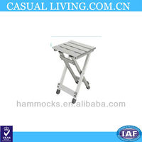 Aluminum outdoor folding table/leisure table