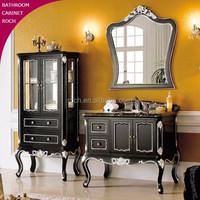 ROCH 153 Top Luxury Solid Wood Bathroom Vanity Antique Bathroom Cabinet