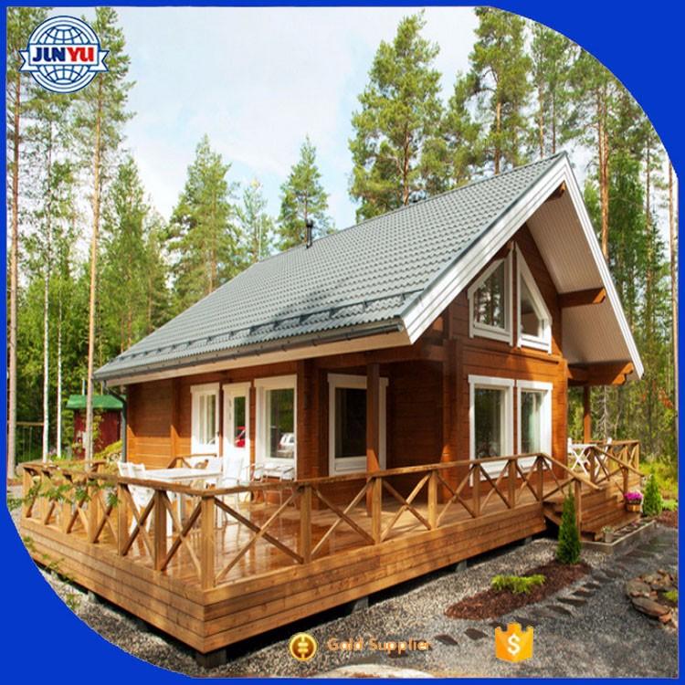Garden house beautiful prefabricated wood beautiful house for Prefab garden house