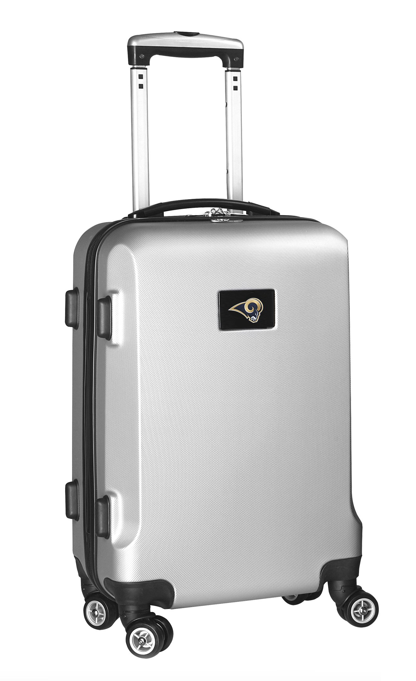 NFL St. Louis Rams Hardcase Domestic Carry-On Spinner, Silver, 20-Inch