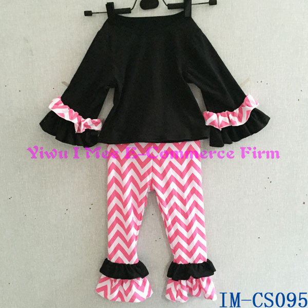 134404c5f179 Persnickety Kids Girl Boutique Clothing Sets Wholesale Children s Cotton  Ruffled Shorts Summer Outfit Sets with Flowers
