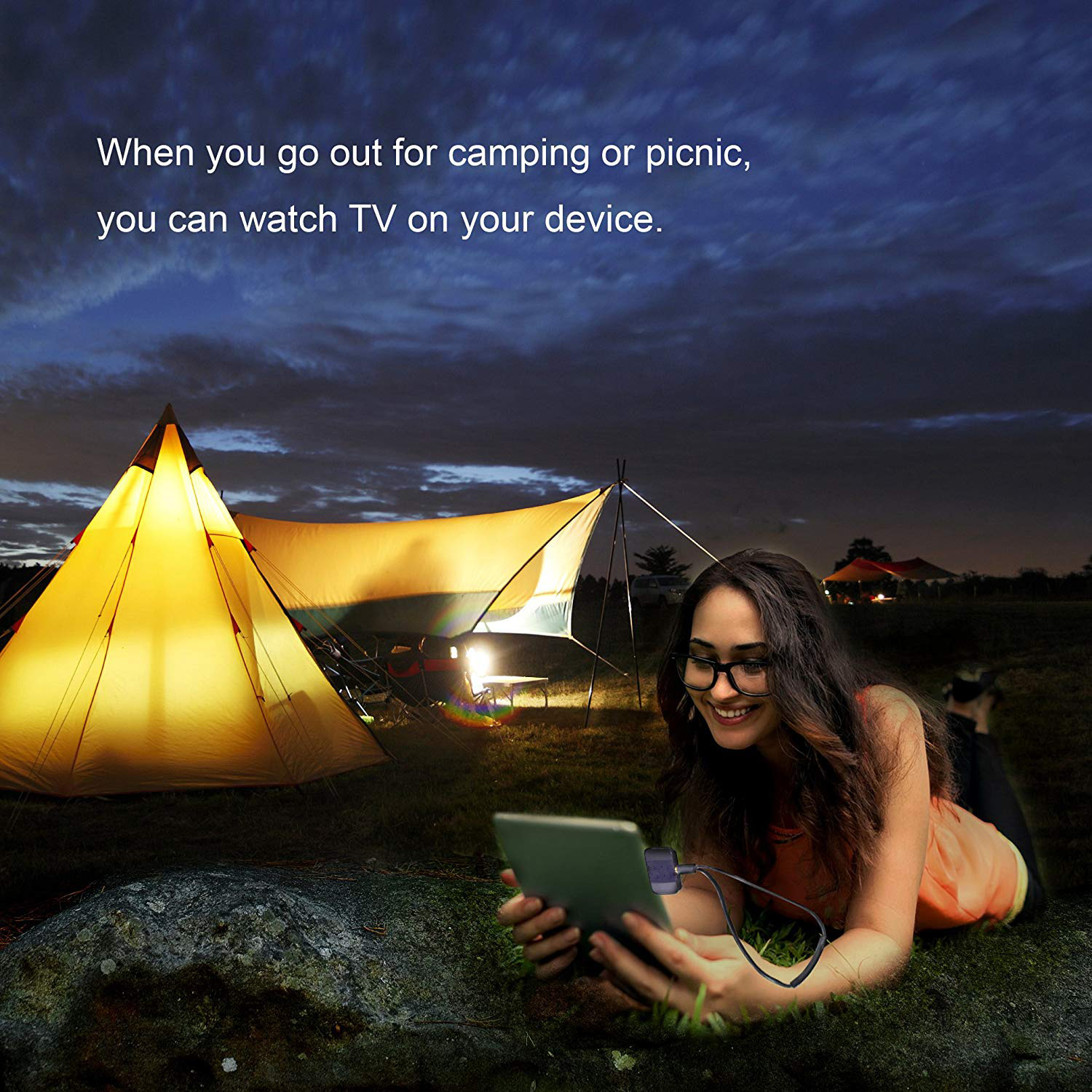2020 Hot Sale ATSC/DVB-T2/ISDB Portable Mobile Download APK PAD Live TV Receiver/Tuner/Dongle To Watch TV Freely