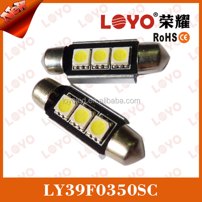 hotsale superbright car map reading light,canbus led festoon light, canbus auto led festoon light