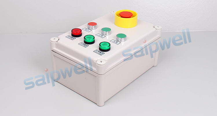 Waterproof Assembly co-rotating and reverse button box