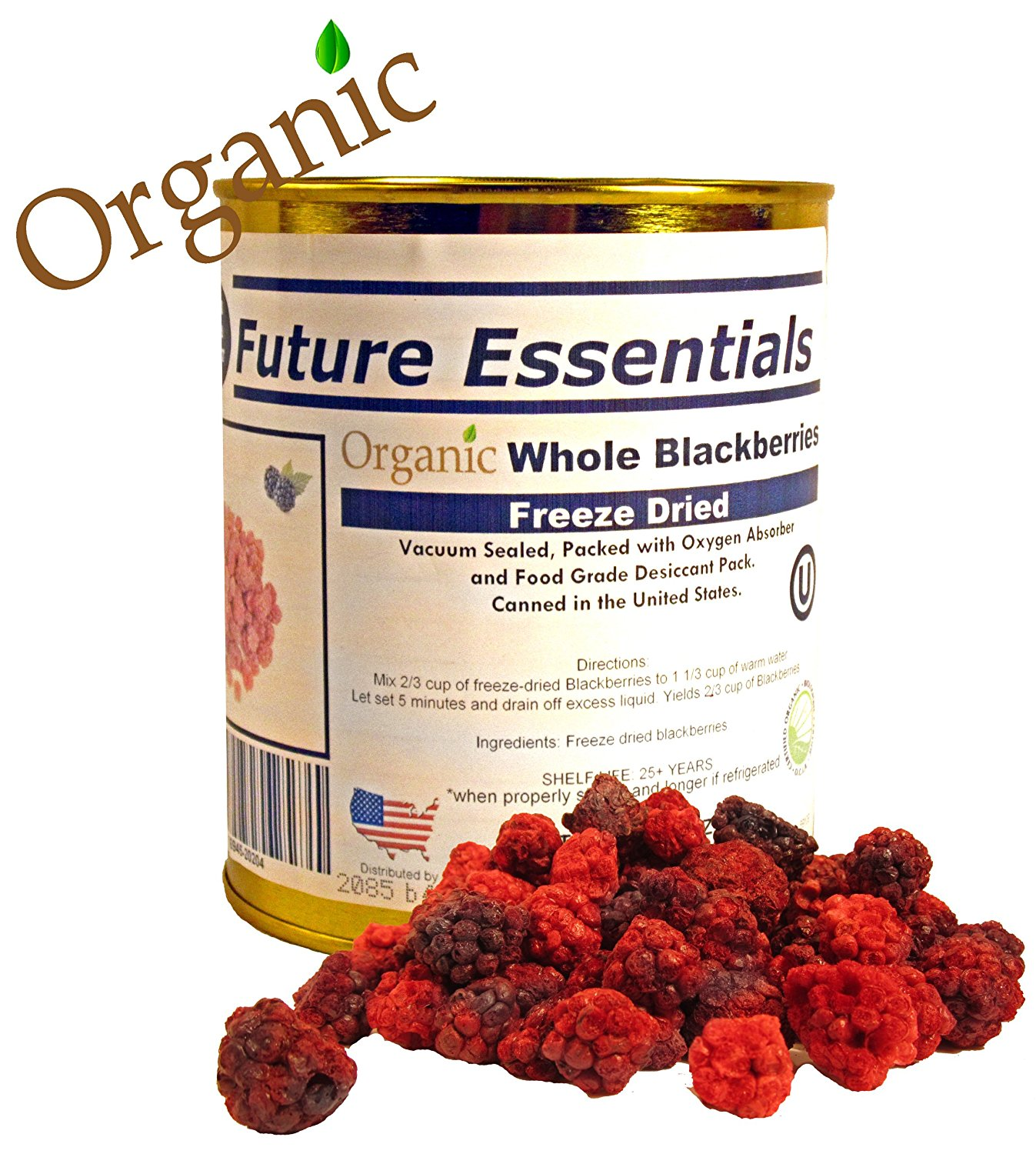 Get Quotations Future Essentials Freeze Dried Organic Blackberries