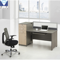 Hot-saled elegant panel office furniture desk front desk