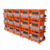 orange and black mobile portable PE  China supplier three phase 32A  ac power distribution board
