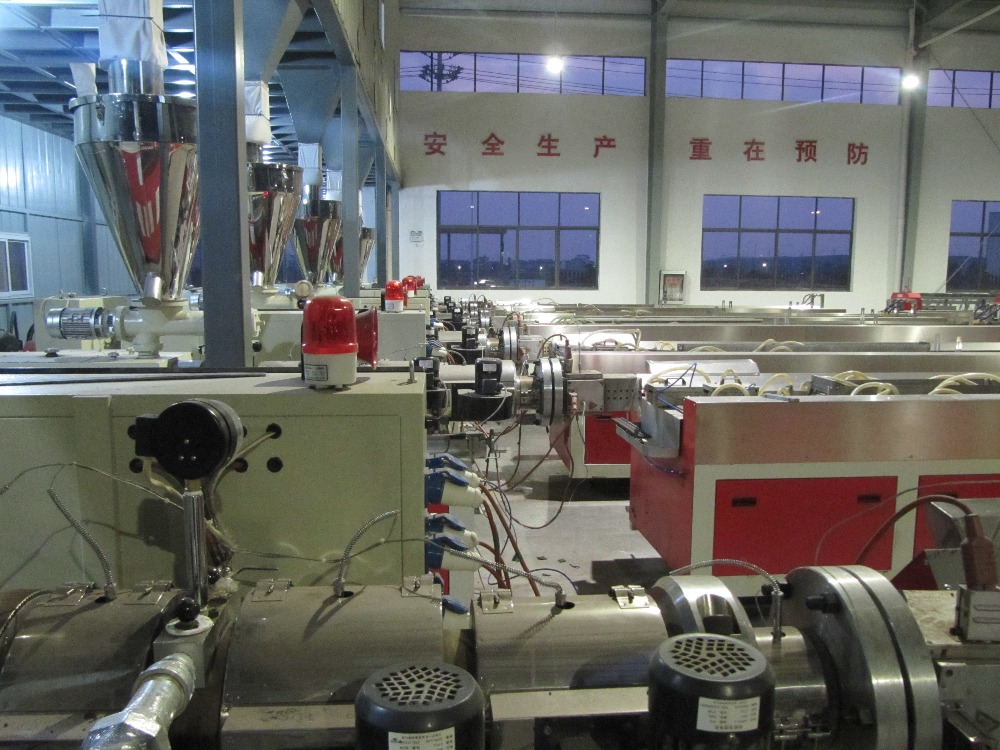 Wood plastic granules making machine Plastic granules making machine masterbatch extruder