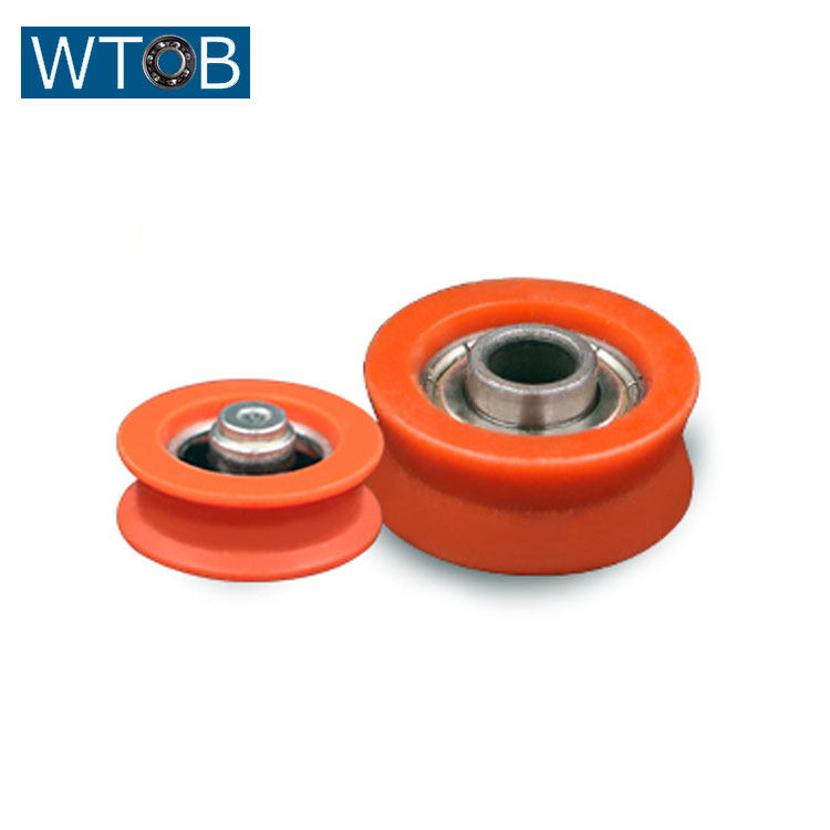 V Groove POM Sliding Door and Window Roller with 608ZB Bearing for Egypt Market