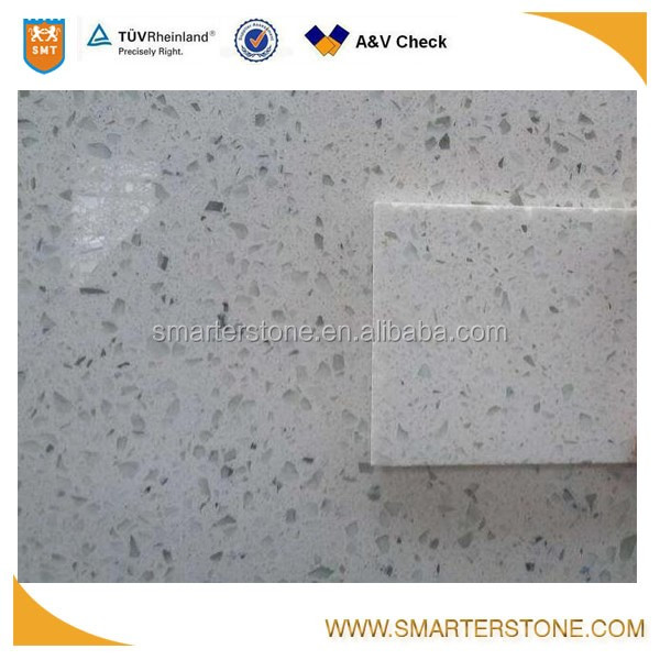 SMTD940 starlight white quartz big slab for countertop