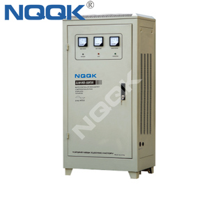 DJW-WB 80KVA 100KVA 100KW Micro controlled Non contact Compensation 1Phase  Voltage Stabilizer Regulator