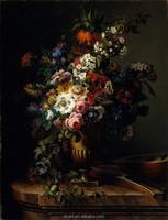 Handmade Famous Still Life Flower Oil Paintings For Sale