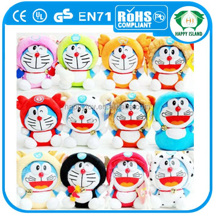 Hai Ce Seksi Penjualan Doraemon Mewah Mainan Warna Warni Kartun