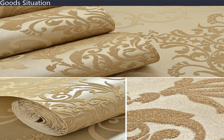 Flower pattern real 3d wallpaper for kitchen walls decor for 3d wallpaper for kitchen walls