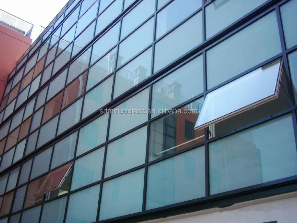 6 1 2 Sips Curtain Wall : Double glazed glass insulated panels for curtain