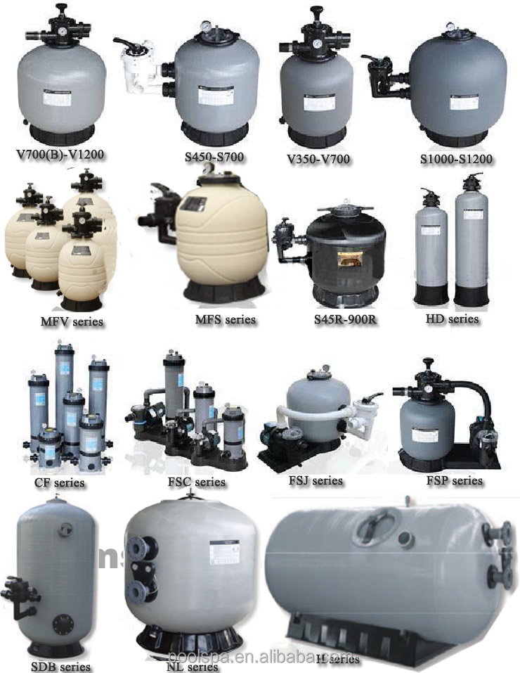 Wholesale Full Set Water Filtration Equipment Swimming Pool