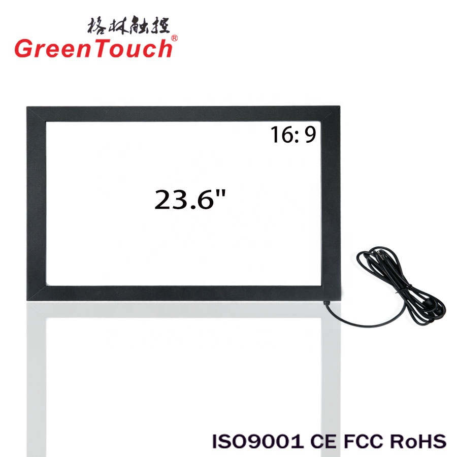 USB IR touch screen, dual punt 23.6 inch infrarood touch screen, IR touch voor alle-in-een