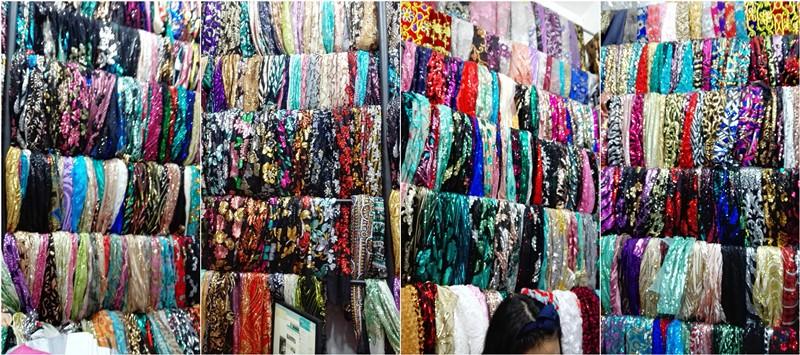 Proveedores de telas para vestidos de fiesta