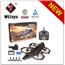 NEW ARRIVAL! WL toys Q202 4 Channel 6 Axis Gyro 3 in 1 land criser RC aircraft carrier
